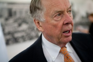 T. Boone Pickens. Photo by Brandon Hoffman.