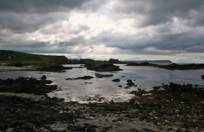 Rocky Shore at Ballintoy by Andrew Wood