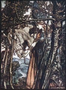 Ills bu Arthur Rackham, 1910